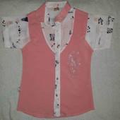 блузка девочковая