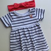 Котонове платтячко від Lullaby з повязкою
