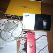 !Одним лотом! Мобильный сенсорный телефон в родной коробке с документами+ зарядка+ цифровой фотоаппа