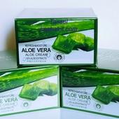 Освежающий и увлажняющий крем-гель для лица и шеи Aloe Vera (фото 1, 3, 4, 5) В лоте 1 шт!