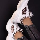 Vintag, Мега крутые кроссовки на высокой подошве. 37р-23 см.