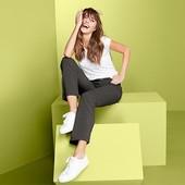 ☘ Функціональні штани оливкового кольору DryАctive Plus, Tchibo, рр. наші: 46-48 (40 євро)