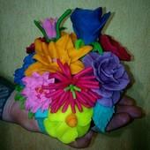 Натуральная масса для лепки Play-doh ручн.работы, 800грамм! 10цветов. СкидкаУП-5%