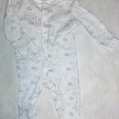 ♥️Новый фирменный♥️человечек Primark Baby 0-1мес, 4,5кг