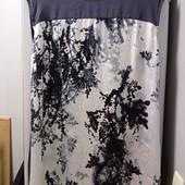 Фирменное платье-туника. Р-р 16. Состояние хорошее. На каждый день очень легкое и удобное.