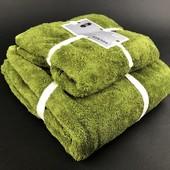 Комплект полотенец размером 140*70 см и 75*35 см.Доставка УП скидка 10%