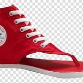 Яркие красные кеды/вьетнамки Converse Оригинал