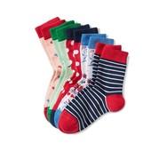 ☘ Лот 2 пари ☘ Для дівчинки-яскраві бавовняні шкарпетки від tcm Tchibo (Німеччина), розміри: 16/18