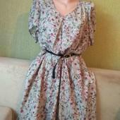 Лёгкое платье,красивая цветовая гамма на 3XL-4XL от Yumi