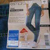 ❤️Esmara Германия❤️отличные джинсы супер скинни евро 42