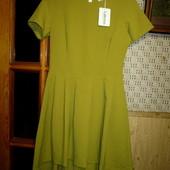 Качество! Стильное платье/удлиненная спинка от турецкого бренда Lakerta
