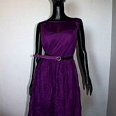 Качество! Шикарное платье/вышивка на фатине от Elisabetta Franchi, новое состояние, р. 14+-