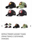 Летняя бейсболка(кепка)  Looney Tunes   сетка, Унисекс