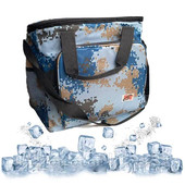 Сумка холодильник, термосумка голубая 40 литров