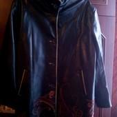 Куртка екокожа размер 58