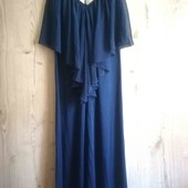 Очень красивое нарядное длинное платье в пол. Англия.