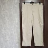 Всё по 150! Фирменные новые мужские коттоновые брюки-слаксы р.36-29 на пот-44,5-46 поб-56-57