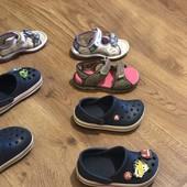 Crocs, босоножки Nike, босоножки Clark's, оригинал, вещи моего ребёнка, не секонд.