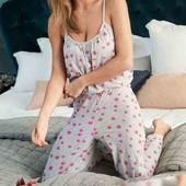 Пижама ромпер хлопок большой размер Avon uk16/18