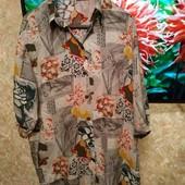 Лёгенькая новая рубашка-блуза вискоза