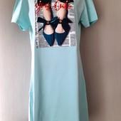 Платье футболка новое цвет на выбор