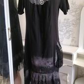 Эксклюзивное платье, туника. Турция. Новое, без этикетки. Смотрите замеры
