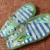 Силиконовые сандалики 19см