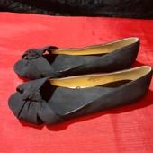 Новые текстильные туфли H&M, ориг. Вьетнам, разм. 38 (24 см по бирке, реально 24,5 см). Сток.