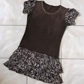 Стоп ) в отличном состоянии❤ красивое платье для девочки с оборками,10/11лет❤ Много лотов!
