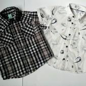 Две рубашки для мальчика, GeeJay (Глория джинс)!!!