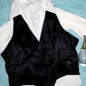 Красивая,стильная жилетка+блузка в подарок!