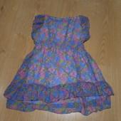 Шифоновое-платье-туника F&Fсостояние очень хорошее