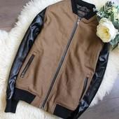 Крутая куртка бомбер Фирмы Next. Размер 116- 122