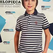 Футболка поло на мальчика от young style размер 152.
