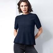 Стильная, элегантная блузка из крепа от Tchibo (германия) размер 46 евро=52 без пуговки