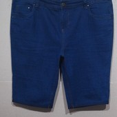Лоты от 10 грн...Большой размер.. Темно-синие шорты.. Стрейч.. р 56..Поб 60-69