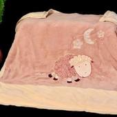 Детское одеяло-плед. Двухслойное