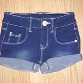 Детские джинсовые шорты denim by Sincere, размер 110/116