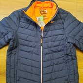 Качественная стёганная куртка на молнии, водо- и грязеотталкивающий материал от MAUI(германия) р. хл