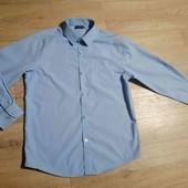 ✔️ Школьная рубашка на мальчика 10 лет