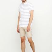 ❤️BBurns оригинал❤️фирменные шорты смесовый ЛЁН с хлопком кэжуал стиль размер 30