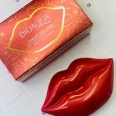 Патчи для губ Bioaqua Cherry Collagen moisturizing essence lip film - Оригинал