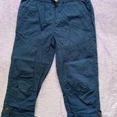 Классные легкие штаны с подворотом на мальчика 8 лет.
