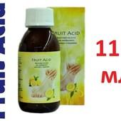 Большая баночка!! Fruit Acid BioGel Фруктовая кислота для необрезного маникюра педикюра 115мл арт102