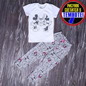 Пижама летняя девочке размеры 110-128