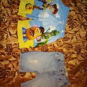 Набор 2 шт. Шорты Disney toy story и шорты denim co