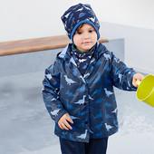 ☘ Водо, вітро-, грязе- непроникна куртка, Tchibo (Німеччина), р .: 98/104, міні нюанс