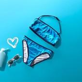 ☘ Лот тільки плавки 1 шт ☘ Яскраві купальні плавки для дівчинки Tchibo (Німеччина), розмір: 122/128
