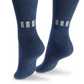 ☘Лот 1 пара☘ Велосипедні шкарпетки з біо-бавовни з відбивачами, Tchibo (Німеччина), 39-42, синій