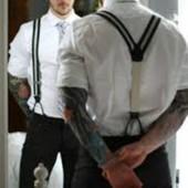 Мужские подтяжки (помочи) для брюк